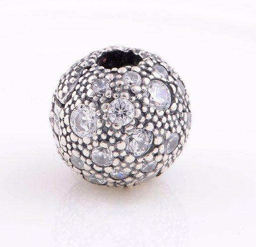 925 Sterling Silver Cosmic Stars Clip - fits European Beads Bracelets