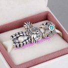 925 Sterling Silver TWINKLING TREASURES SUMMER HOLIDAY Gift Set - fits European Bracelets