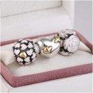 925 Sterling Silver ENDLESS LOVE Charms Gift Set - fits European Bracelets