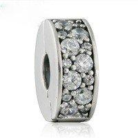 925 Sterling Silver Shining Elegance Clip Charm