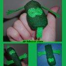 Lizard Finger Puppet