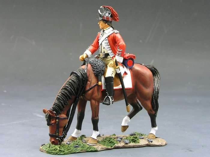 BR055 Cavalry Officer King & Country