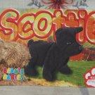 Beanie Babies Card 2nd Edition S3 1999 Scottie