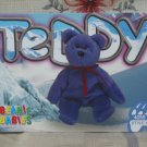 Beanie Babies Card 2nd Edition S3 1999 Teddy Violet