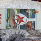 VINTAGE ROAD MAP Utah State Texaco 1960