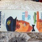 VINTAGE ROAD MAP Florida State Some Cities Sunoco 1966