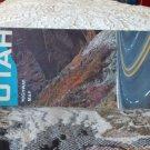 VINTAGE ROAD MAP Utah Highway Map State Road 1961