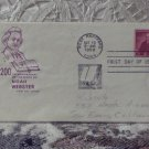 First Day Issue Cover Stamp Noah Webster 200th Ann. 1958 4c