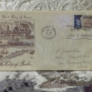 First Day Issue Cover Stamp The City of Quebec Canada 1958