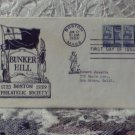 First Day Issue Cover Stamp Bunker Hill 1959 2 1/2c
