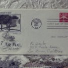 First Day Issue Cover Stamp 7c Airmail Stamp 1960