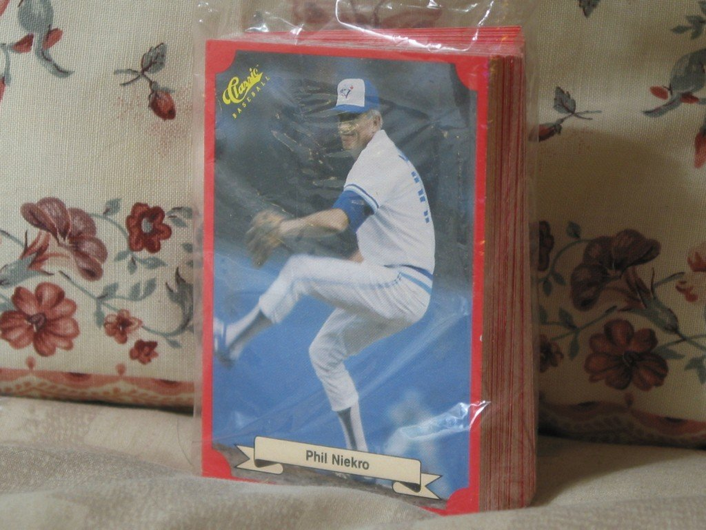 CLASSIC 1988 Red Baseball 50 Card Set Polywrapped