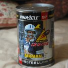 PINNACLE 1997 Football Card Can Troy Aikman Sports