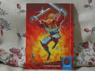FLEER ULTRA X-MEN 1994 Comic Book Trading Card Shatterstar 22