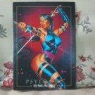 MARVEL MASTERPIECES 1992 Comic Book Trading Card Psylocke 65