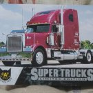 CAT SCALE Series 4 Truck Trading Card 37 Freightliner Classic XL