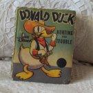 "WALT DISNEY'S 1938 ""Donald Duck"" Big Little Book Comic"