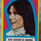 CHARLIES ANGELS 1977 Series 3 Sticker 24 Kate As Sabrina