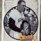 WILLIE MAYS Upper Deck 1992 Baseball Heros Baseball Subset Trading Card No 50