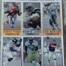 McDONALDS FLEER Gameday Uncut 1993 Football 1 Promo Sheet B 2 of 3 Dan Marino
