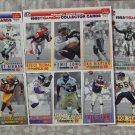 McDONALDS FLEER Gameday Uncut 1993 Football Stars 3 Promo Sheets