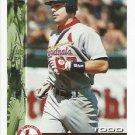 TODD ZEILE Bowman 1995 Baseball Trading Card No 389