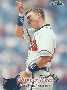 CHIPPER JONES Sports Illustrated Fleer 1997 Baseball  Trading Card No 76