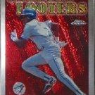 OTIS NIXON Topps Chrome 1997 Baseball Subset Trading Card No SB23