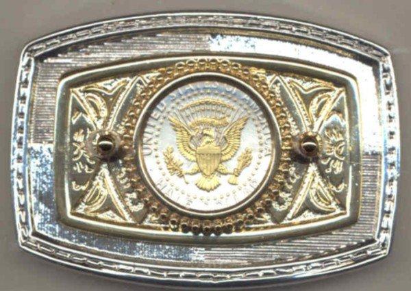 A36BB Belt Buckle - Kennedy half (reverse) (1970-date)