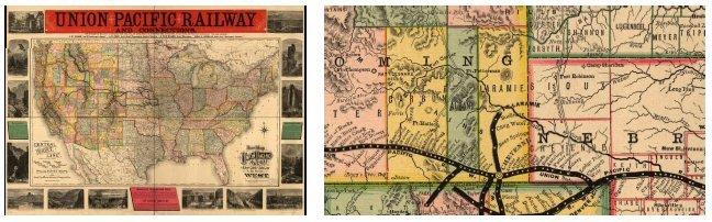 1140 Early Railroad Maps (5 CD Set)