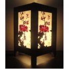 Thai Vintage Handmade  Japanese Sakura Cherry Blossom Tree Bedside Table Lamp