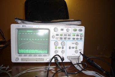 Agilent 54641D Mixed-Signal Digital Oscilloscope Logic Analyzer 2+16 Ch 350 MHz