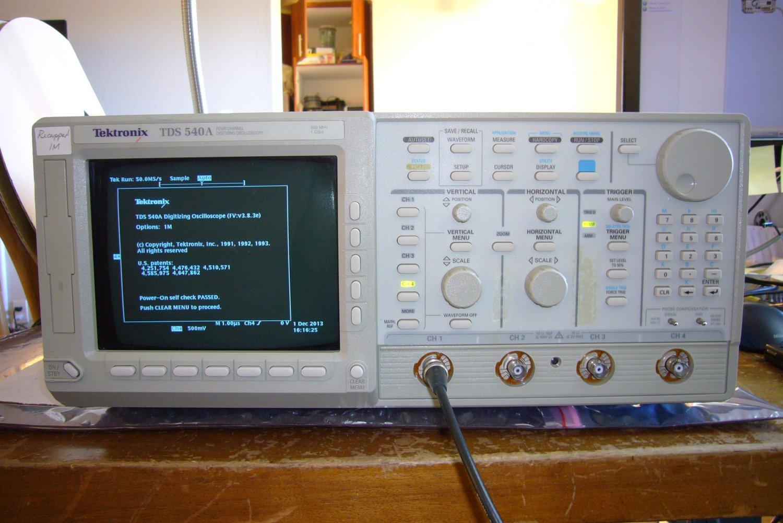 Tektronix TDS 540A Digital Oscilloscope 500Mhz 1GS/s 5Kpts Memory +Recapped +Warranty