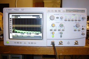 HP Agilent 54810A Infiniium Infinium Digital Oscilloscope 500Mhz 1GS/s Color