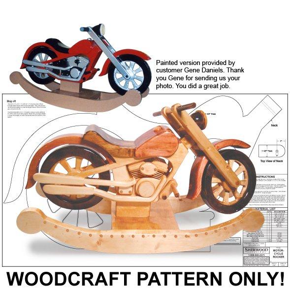 Roarin Rocker Woodcraft Plan Ecr 1947