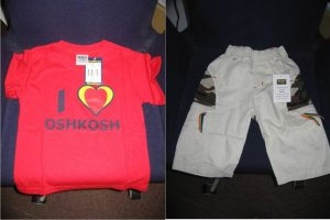 New Osh Kosh Boys Apparel