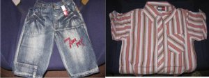 Tommy Hilifiger Shirt and Pants