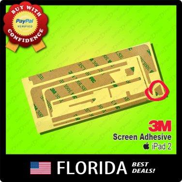 Apple iPad 2 Adhesive 3M Tape Touch Screen Digitizer Glue Sticker