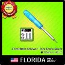 Bottom Screws Pentalobe Torx Screwdriver Replacement tools iPhone 4 4G 4S 5 Star