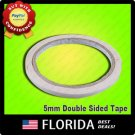 Double Sided Adhesive Tape Sticker Stationery Roll 5MM
