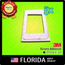 5x Adhesive Tape Sticker iPhone 4 4S LCD Lens Frame AT&T T-Mobile Verizon Sprint