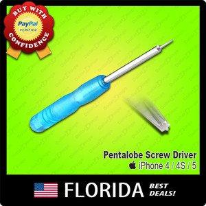 Pentalobe Torx Screw Driver Screwdriver Bottom Magnetic iPhone 4 4S 5 Star