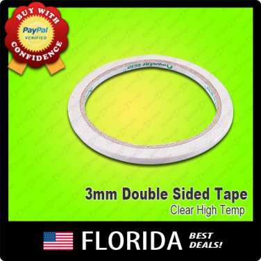 Double Sided Adhesive Tape Sticker Stationery Roll 3MM