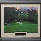 Augusta National Hole #12 Golden Bell color photo Framed