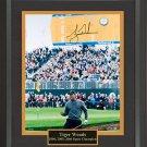 Tiger Woods Signed Open Championship Photo Framed