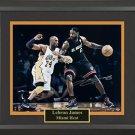 LeBron James Signed Collage Framed