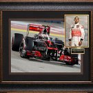 Lewis Hamilton Signed Photo Framed