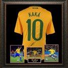 Kaka Autographed Jersey Framed