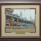 Animal Kingdom Kentucky Derby Photo Framed