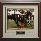 Seattle Slew Photo Framed